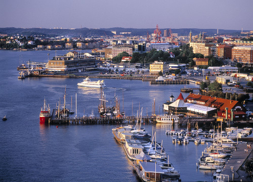 picture of Göteborg waterfront